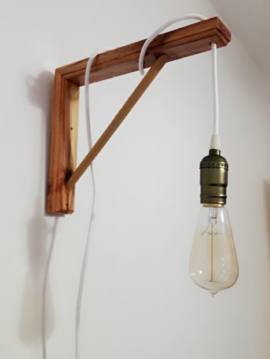 Lamparas apliques de pared lamparas with lamparas - Lampara de pared ...