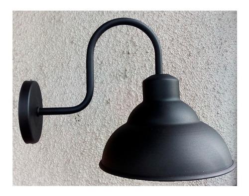 lampara aplique pared galponero vintage bajo consumo