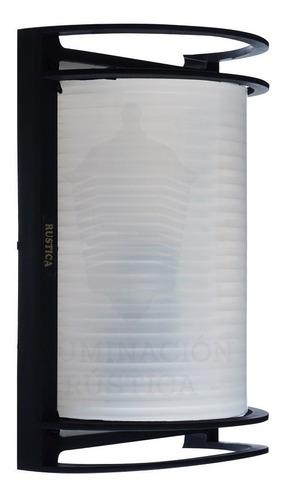 lampara aplique tortuga exterior  en polipropileno apto led