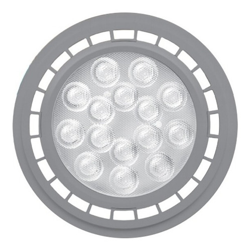 lampara ar111 led 11w gu10 220v blanco calido todoenled