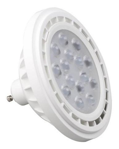 lámpara ar111 led 15 watts gu10 220v neutra luz día 4000k