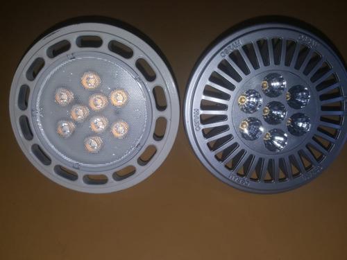 lampara ar111 led candil 12w = 100w 220v lúmenes