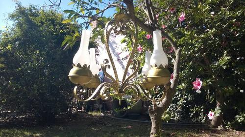 lampara araña artefacto de luz