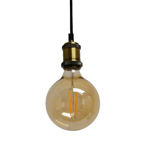 lampara araña vendimia vintage 6 luces