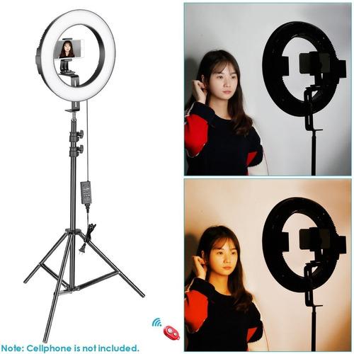 lampara aro luz profesional maquillaje foto video led envio