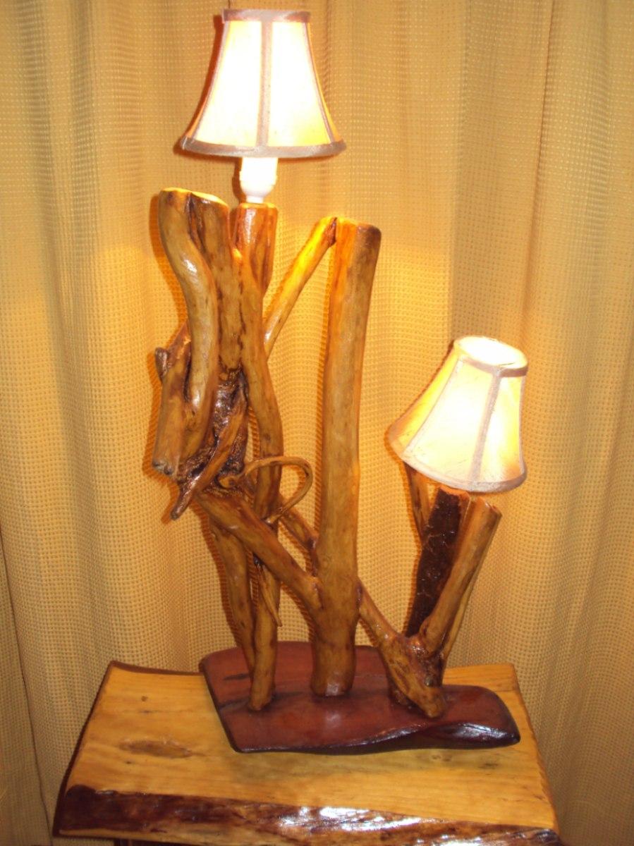 Lampara artesanal preciosa en mercado libre - Lamparas de pie artesanales ...