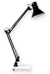lampara articulada pinza apto led e27 ideal tablero