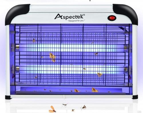 lámpara atra control de zancudos, moscas, insectos voladores