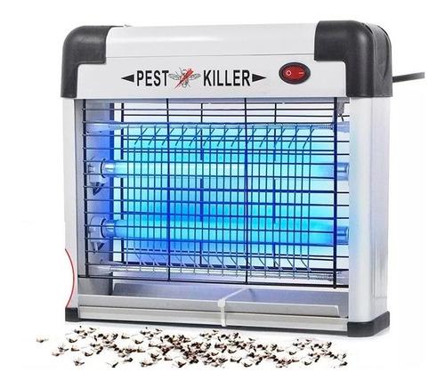 lampara atra mata zancudo mosquito insecto tubos luz uv mnr