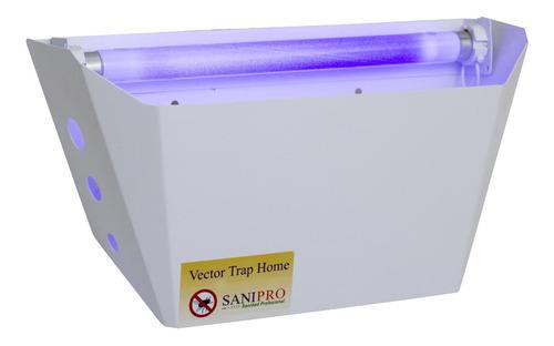 lámpara atrapa insectos ecológica. cubre 30 m². moscas
