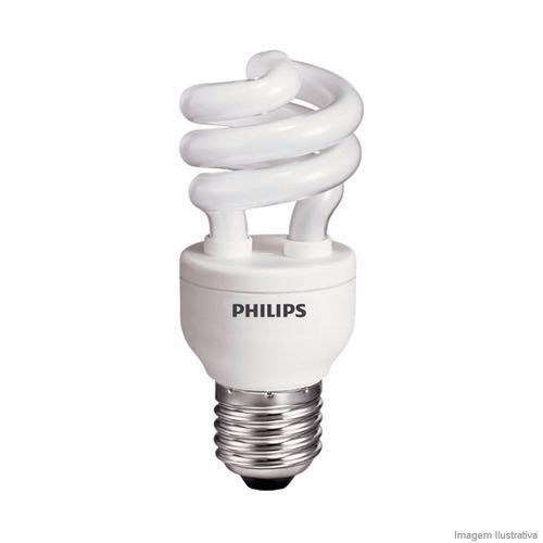 lampara bajo consumo philips 11w = a 50w calida x 6 unidades