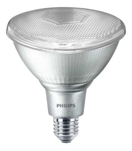 lámpara bajo consumo philips par38 23w luz clara fria e27
