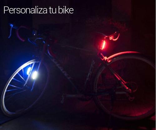 lampara bicicleta comet recargable usb ultra brillante