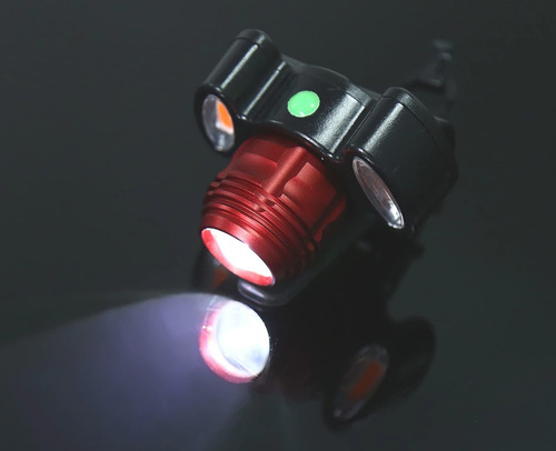 lampara bicicleta portatil recargable 3000 lumenes vs agua