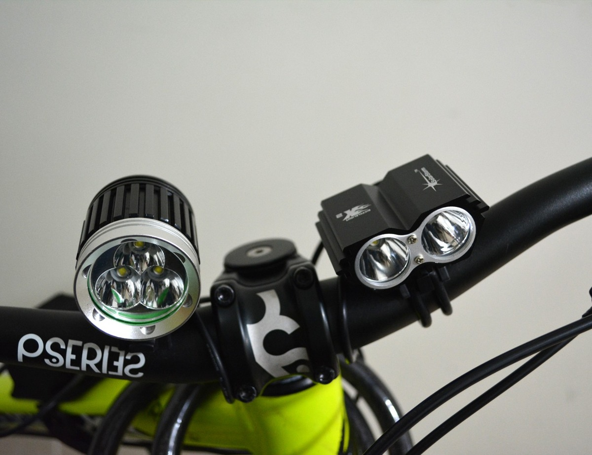 Lampara Bicicleta Solarstorm Cree 5000 Lumens Luces