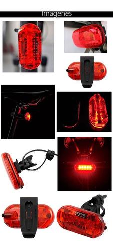 lampara bicicleta trasera cateye omni 5 tecnologia 360 grado