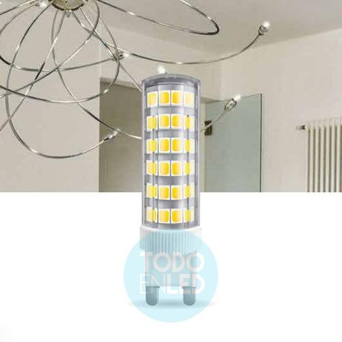 lampara bipin g9 led 6w cálido/frío 220v - todoenled g96