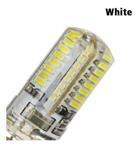 lámpara bipin led g4 12v / 220v 6w reales cálido y frío