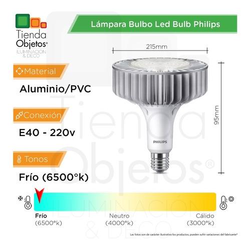lampara bulbo led bulb philips 180w 220v e40 trueforce core