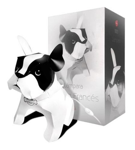 lampara bulldog frances perro para mesa perrito 40cm velador
