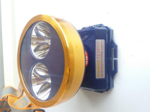 lampara cacería cento led amarillo y blanco 30 w foco+regalo