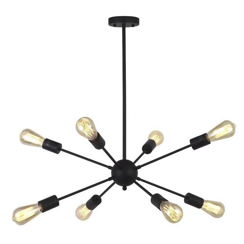 lámpara candelabro candil 8 luces para sala comedor o cocina