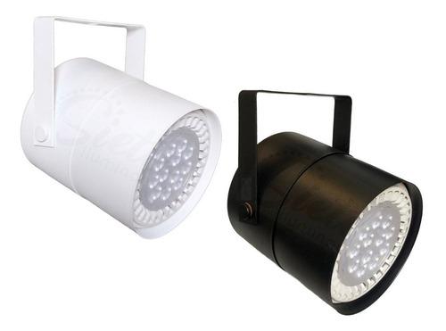 lámpara cañon proyector cabezal spot ar111 led 15w móvil