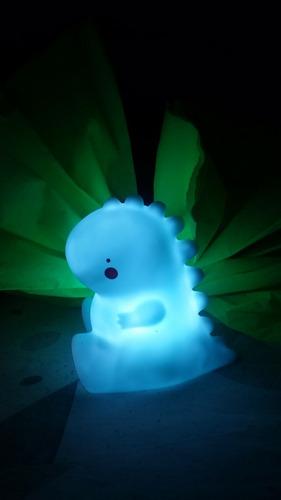 lampara celeste de dinosaurio para niños