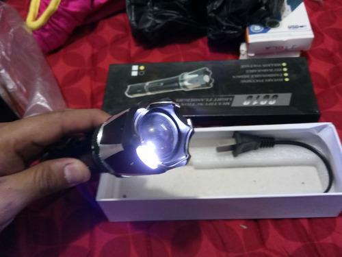 lampara chicharra - recargable - estrobo - led - 6610