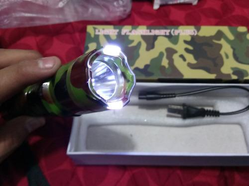 lampara chicharra - recargable - estrobo - led - 9a