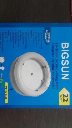 lampara circular 22w fluorecente