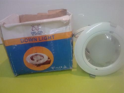 lampara circulas p/empotrar de techo raso/drywall