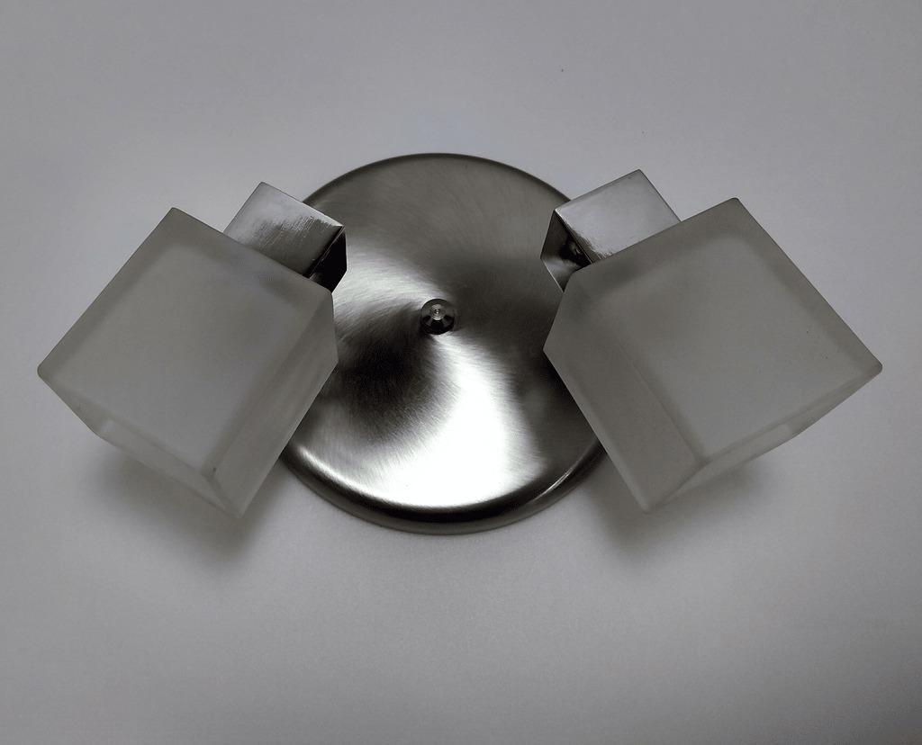 Lampara Cocina Moderna Aplique Techo Plafon Led Vidrio Baño. Cargando Zoom.