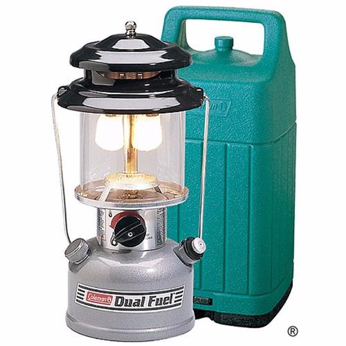 lampara coleman de gasolina  dual-fuel redisa