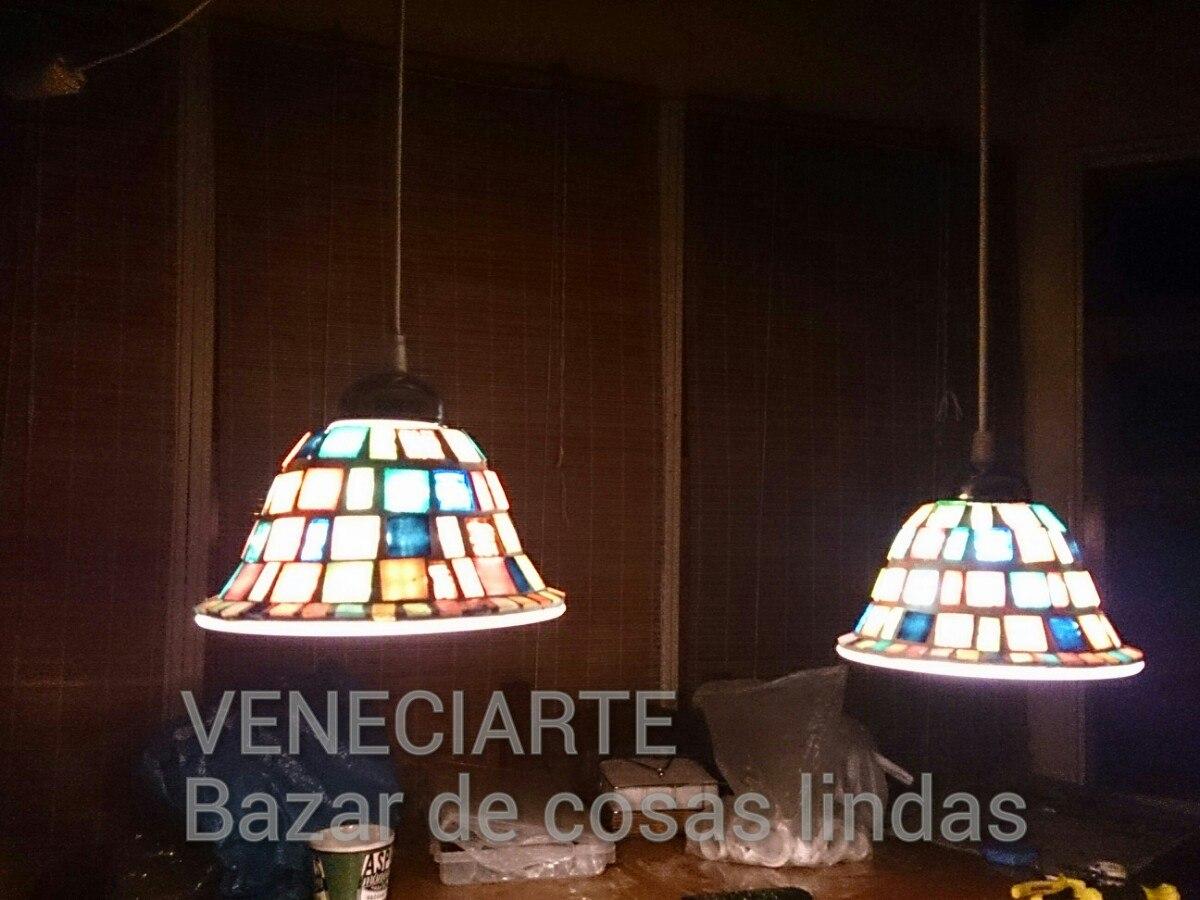 Lámpara Colgante 2 Luces Decorada Con Venecitas Cocina - $ 1.350,00 ...