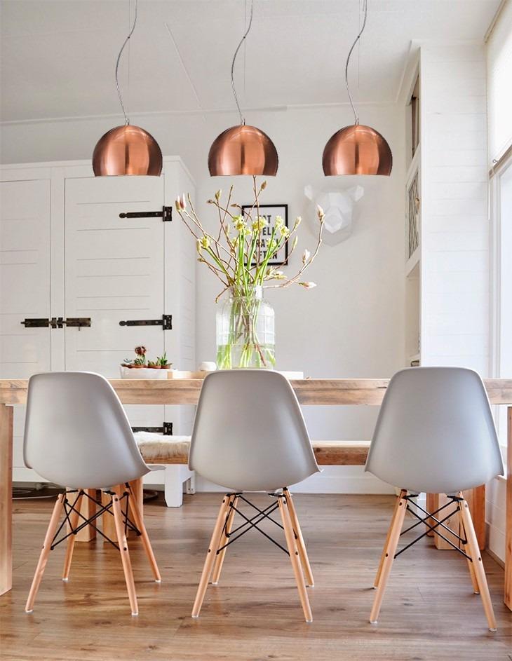 Encantador Cocina De Iluminación Colgante De Cobre Galería - Ideas ...