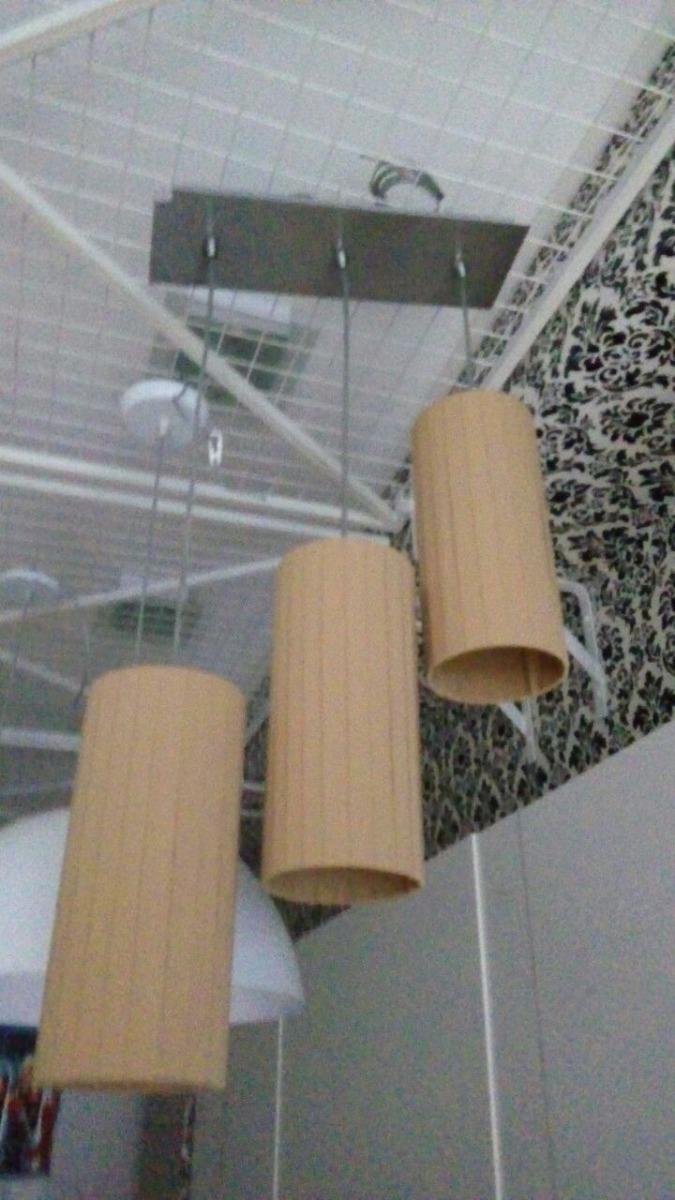 Lampara Colgante 3 Luces Para Comedor Habitación Liquidación - $ 790 ...