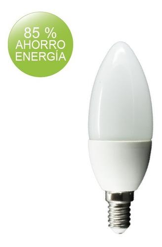 lampara colgante atomo 60cm oxido 6 luces led buena luz
