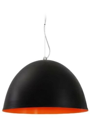lampara colgante campana en aluminio