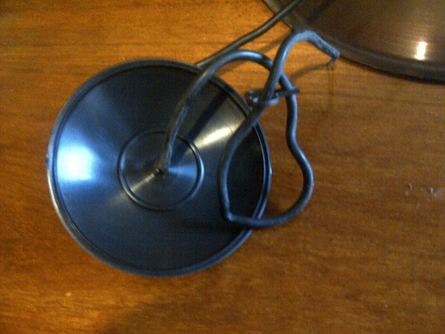 lampara colgante campana galponera cobre bajo consumo comun1