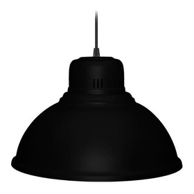 Lampara Colgante Campana Galponera Industrial 40 Cm