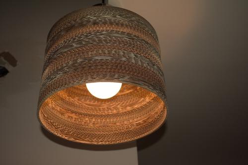 lampara colgante circular 35 decart iluminación sustentable