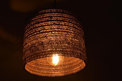 lampara colgante circular decart- iluminación sustentable