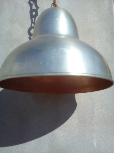 lampara colgante de aluminio iluminacion