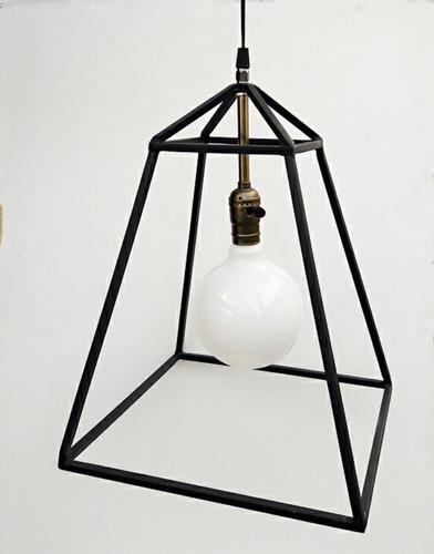 lampara colgante de hierro