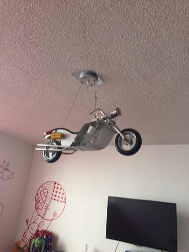 lampara colgante de moto