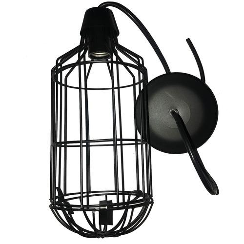 lampara colgante de rejilla minimalista industrial lr1