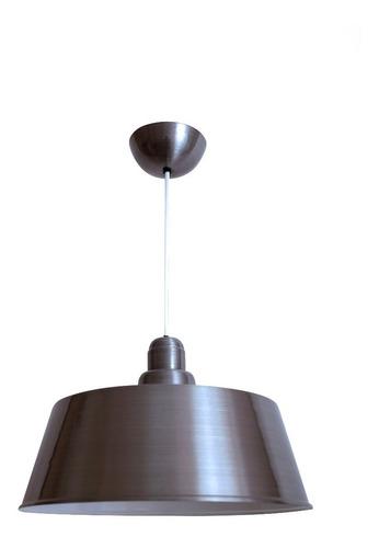 lámpara colgante de techo clarence silver lightupyl cl
