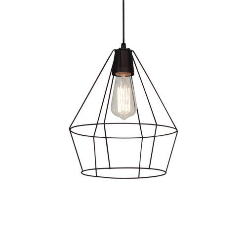 lámpara colgante de techo - moderna jaula diamante vintage