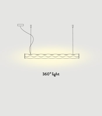 Hugo Moderna Slamp De Lampara Colgante Suspension Techo Led XZPTOkiu